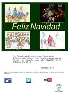 felicitacion navideña-san miguel adoratrices-2018